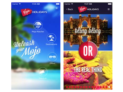 Virgin Holidays launches holiday app | SRS
